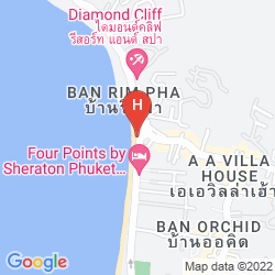 Mappa BANTHAI BEACH RESORT & SPA
