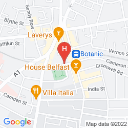 Mappa BEST WESTERN CRESCENT TOWNHOUSE