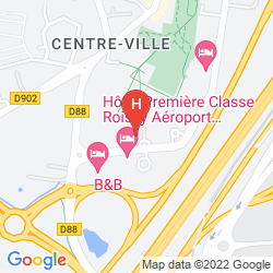 Mappa PENTAHOTEL PARIS CHARLES DE GAULLE AIRPORT