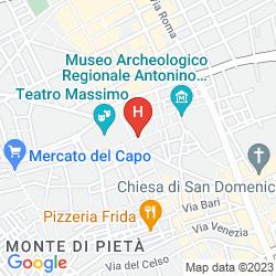 Mappa MASSIMO PLAZA HOTEL