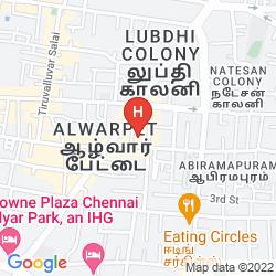 Mappa RAJ PARK CHENNAI