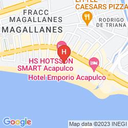 Mappa AUTO HOTEL RITZ