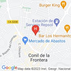 Mappa FUERTE CONIL - COSTA LUZ SPA