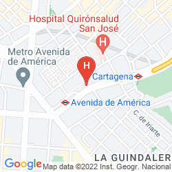 Mappa PUERTA AMERICA