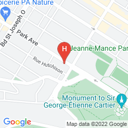 Mappa PARK AVENUE