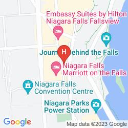 Mappa RADISSON HOTEL & SUITES FALLSVIEW