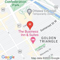 Mappa CARTIER PLACE SUITE