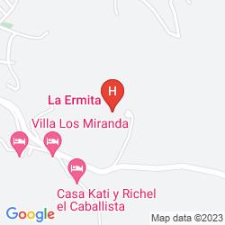 Mappa LA ERMITA