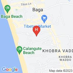 Mappa VILA GOESA BEACH RESORT