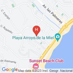 Mappa LOS PATOS PARK