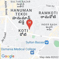 Mappa ADITYA PARK INN