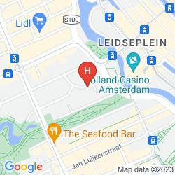 Mappa LEONARDO HOTEL AMSTERDAM CITY CENTER