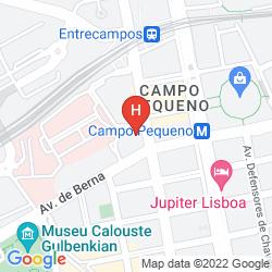 Mappa LUZEIROS SUITES