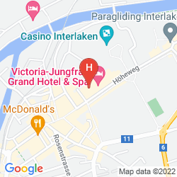 Mappa VICTORIA JUNGFRAU GRAND HOTEL & SPA