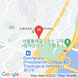 Mappa W SEOUL-WALKERHILL