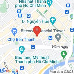 Mappa SEDONA SUITES HO CHI MINH CITY