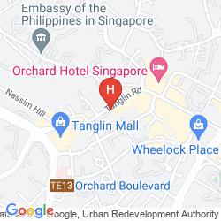 Mappa THE ST. REGIS SINGAPORE