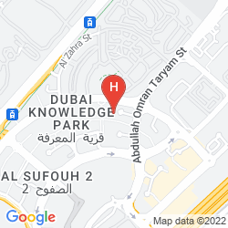 Mappa HOLIDAY INN EXPRESS DUBAI - INTERNET CITY