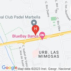Mappa SISU BOUTIQUE HOTEL PUERTO BANUS
