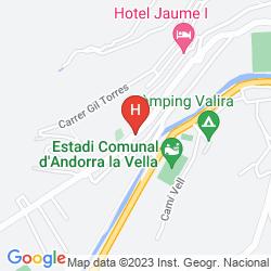 Mappa HOTANSA CERVOL