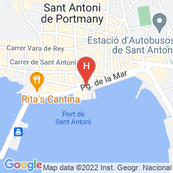 Mappa HOTEL S'ESTANYOL