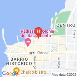 Mappa RADISSON
