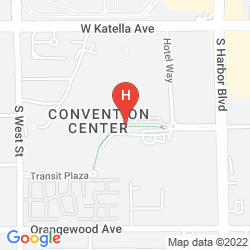 Mappa HILTON ANAHEIM