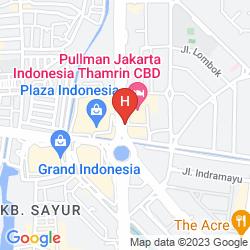 Mappa GRAND HYATT JAKARTA