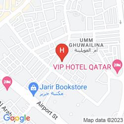 Mappa AL LIWAN SUITES