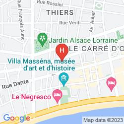 Mappa VILLA RIVOLI