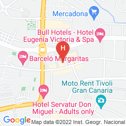 Mappa VISTA BONITA - GAY RESORT