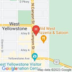 Mappa BEST WESTERN DESERT INN