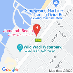 Mappa JUMEIRAH BEACH