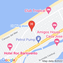 Mappa GRAN CARIBE SUNBEACH