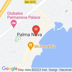 Mappa AGUA BEACH