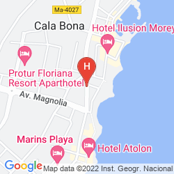 Mappa APARTHOTEL CAP DE MAR