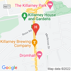 Mappa HOLIDAY INN KILLARNEY