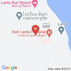 Mappa SRILANTA RESORT