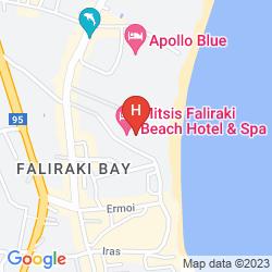 Mappa MITSIS FALIRAKI BEACH
