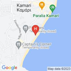 Mappa KAMARI BEACH