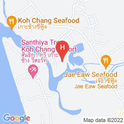 Mappa KLONG PRAO RESORT