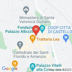 Mappa TIFERNO