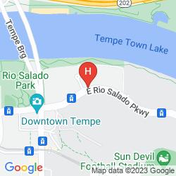Mappa AC HOTEL PHOENIX TEMPE/DOWNTOWN