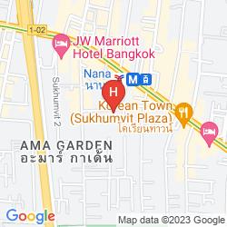 Mappa GRAND SUKHUMVIT HOTEL BANGKOK