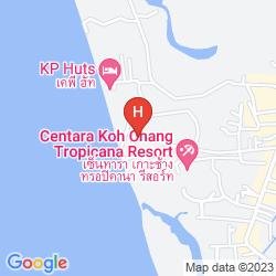 Mappa BARALI BEACH RESORT