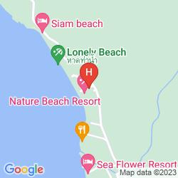 Mappa BHUMIYAMA BEACH RESORT