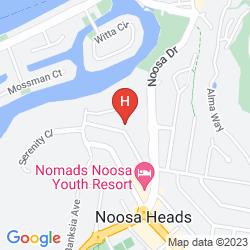 Mappa NOOSA BLUE RESORT