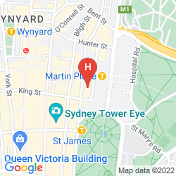 Mappa TRAVELODGE HOTEL SYDNEY MARTIN PLACE