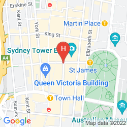 Mappa NOMADS WESTEND BACKPACKERS SYDNEY