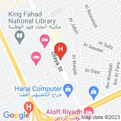 Mappa OLAYA PALACE HOTEL (.)